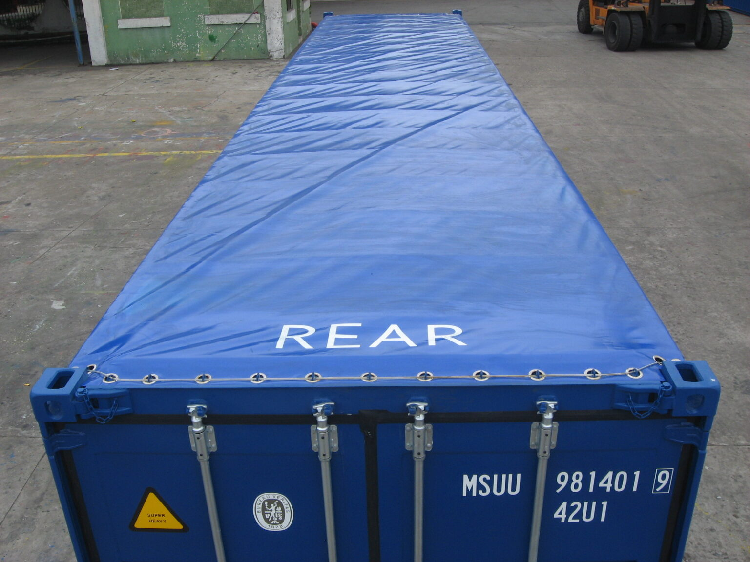 40ft Open Top - M/S Containers
